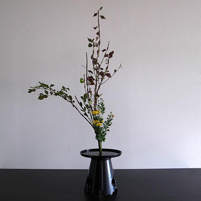 生花正風体 錦木、小菊