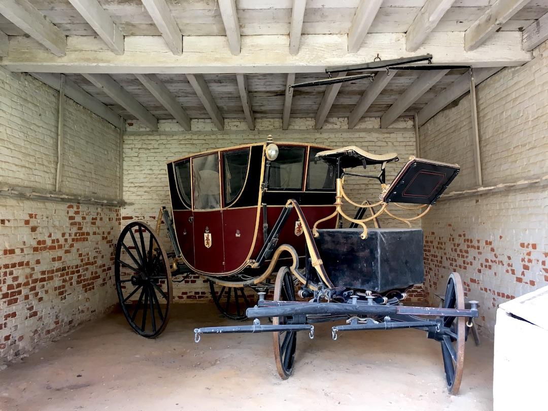 初代アメリカ合衆国大統領ジョージ・ワシントンさんの馬車